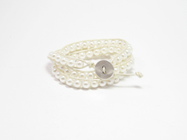 Armband Summer South Sea Shell Vit