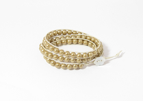Armband Summer South Sea Shell Guld/Champagne