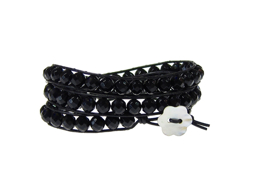Armband Kendra Onyx Svart