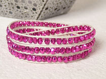 Armband Kendra Minor Hot Pink metallic