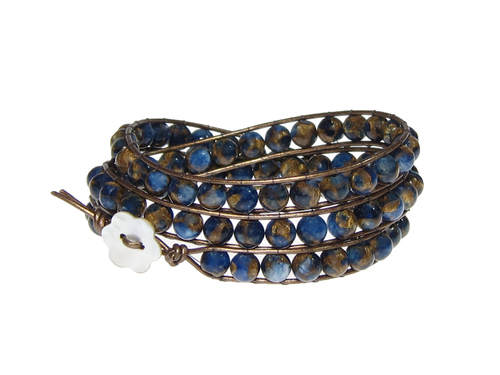 Armband Kendra Sponge Kvarts Bl