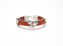 Armband Sienna Fjäril Orange