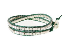 Armband Meredith Silver Grn