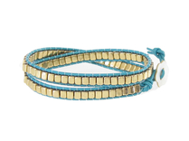 Armband Meredith Guld Turkos