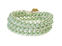 Armband Summer South Sea Shell Grön