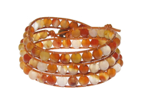 Armband Kendra Karneol Orange