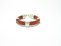 Armband Sienna Slät Orange